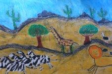 Aranyos rajzok: Gergely Gábor - Szavanna
