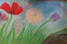Aranyos rajzok: Nádasdi Anna - Virágos mezőn