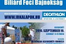 Decathlon Biliárd Foci Bajnokság